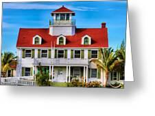 Peanut Island Greeting Card