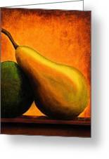Pear Greeting Card