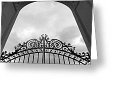 Pearly Gates Greeting Card