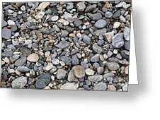 Pebble Beach Rocks, Maine Greeting Card