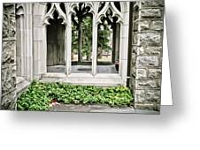 Peek-a-boo At Valley Forge Greeting Card
