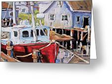 Peggy S Cove 02 By Prankearts Greeting Card