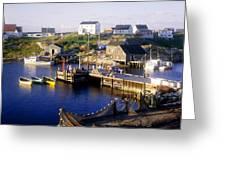 Peggys Cove, Nova Scotia Greeting Card