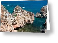 Peidades Coast Portugal Greeting Card