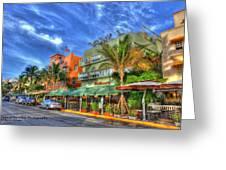 Pelican Hotel Greeting Card