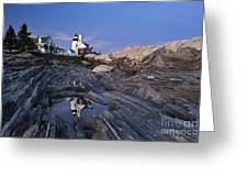 Pemaquid Point Lighthouse - D002139 Greeting Card by Daniel Dempster