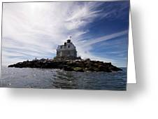 Penfield Reef Lighthouse Greeting Card