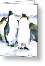 Penguin Lovers Greeting Card