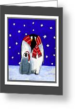 Penguin's First Christmas Greeting Card