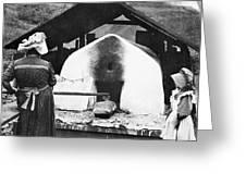 Pennsylvania: Bakery, 1905 Greeting Card