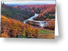 Pennsylvania Color Greeting Card