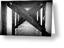 Penthouse Pier Greeting Card