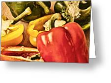 Peppered 4 Greeting Card