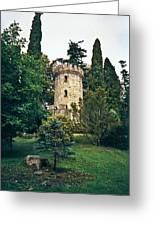 Pepperpot Tower At Powerscourt Greeting Card