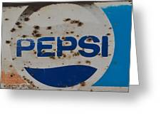 Pepsi Old Style Greeting Card