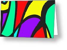 Perambulate Greeting Card