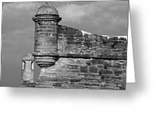 Perched On History Greeting Card