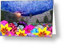 Perennially Beautiful II Greeting Card