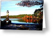 Perfect At Lake Potanipo Greeting Card