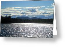 Perfect Day On The Lake Greeting Card