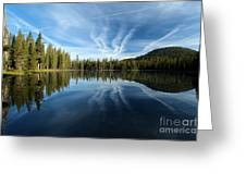 Perfect Reflection Greeting Card