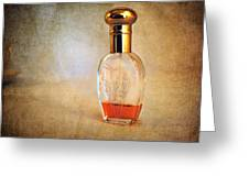 Perfume Bottle I Greeting Card