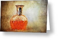 Perfume Bottle II Greeting Card