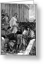 Pericles (c495-429 B.c.) Greeting Card