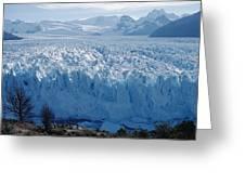 Perito Moreno Glacier, Tourist Overlook Greeting Card