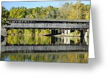 Perrine's Covered Bridge Greeting Card