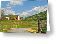 Persimmon Winery Greeting Card