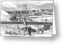 Peru: Chilean Army, 1881 Greeting Card