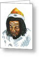 Peter Tosh Greeting Card