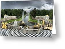 Peterhof Palace 16x9 Greeting Card
