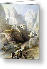 Petra March 10th 1839 Greeting Card