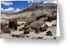 Petrified Forest 2 Greeting Card