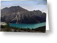 Peyto Lake - Canadian Rocky Mountains Greeting Card