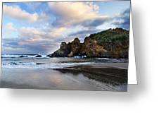 Pfeiffer Beach Greeting Card