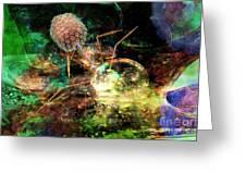 Phage Dreaming 1 Greeting Card