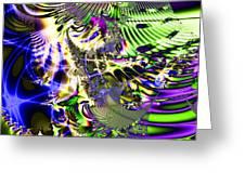 Phantasm . Square Greeting Card by Wingsdomain Art and Photography