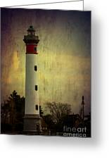 Phare De Ouistreham Or Ouistreham Lighthouse    Caen Greeting Card