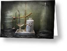 Pharmacy - Victorian Apparatus  Greeting Card