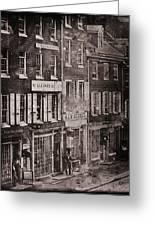 Philadelphia 1843 Greeting Card