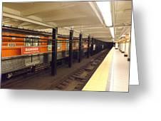 Philadelphia Broadstreet Subway Greeting Card