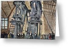 Philadelphia Expo: Engine Greeting Card