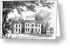 Philadelphia: Mansion Greeting Card