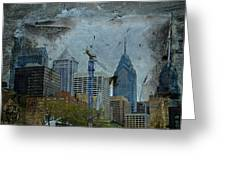 Philadelphia Skyline Greeting Card