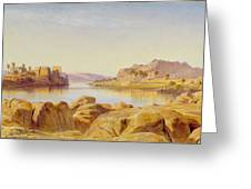 Philae - Egypt Greeting Card