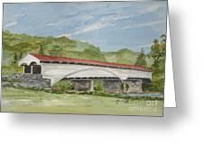 Philippi Covered Bridge  Greeting Card