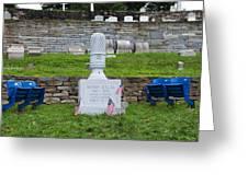 Phillies Harry Kalas' Grave Greeting Card